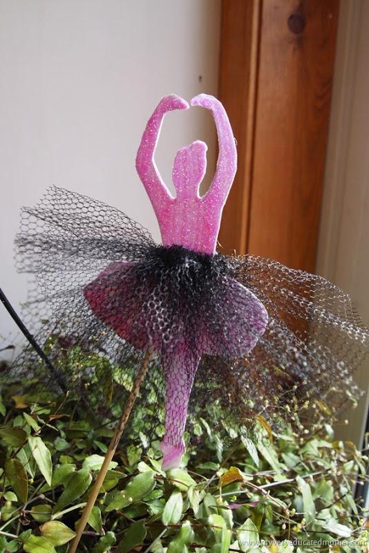 Ballerina Plant Stick