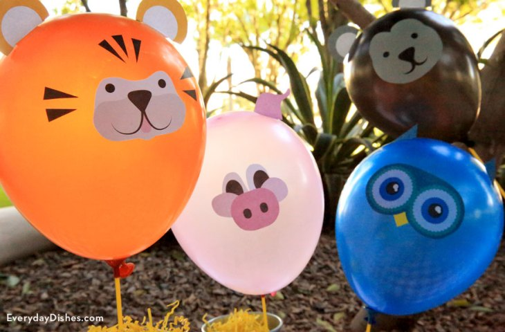 Easy Balloon Decals