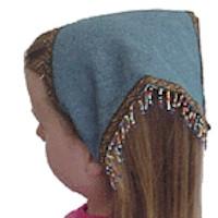 Easy Beaded Kerchief