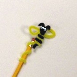 Image of Bee Pencil Topper