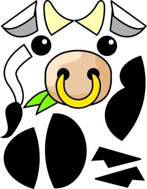 Image of Paper Plate Bull