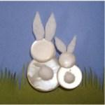 Image of Mini Button Wreath