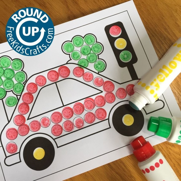 10 Great Car Crafts and Activities for Preschoolers