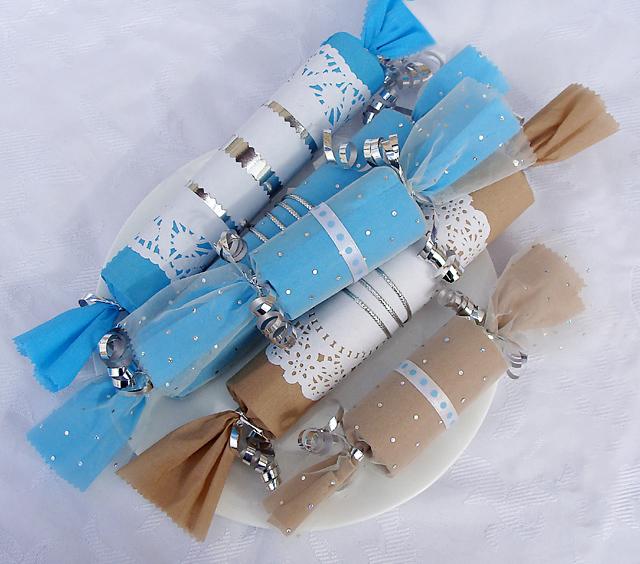 Cardboard Tube Hanukkah Party Favors