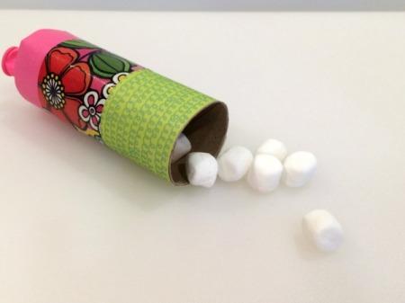 Cardboard Tube Marshmallow Launcher