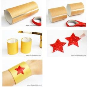 Image of Cardboard Tube Superhero Bracelets