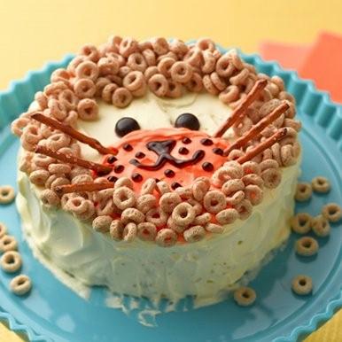 Image of Cheerios Lion Birthday Cake Decoration