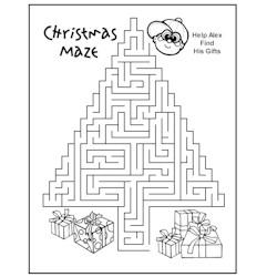 Image of Christmas Maze