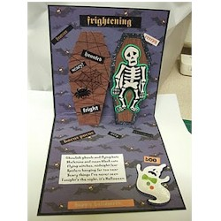 Image of Ghoulish Pop Up Coffin Card