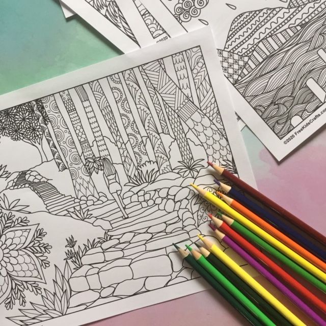 Zen Coloring Pages For Teens