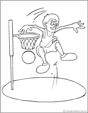 Image of Sports Coloring Pages