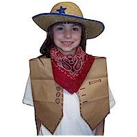 Paper Bag Cowgirl Vest