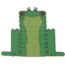 Image of Craft Stick Frog