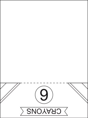 Image of Back to School Crayon Coloring and Activity Page