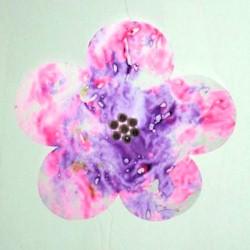 Image of Flower Crayon Sun Catcher