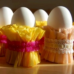 Crepe Easter Egg Cups