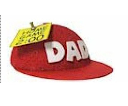 Image of Baseball Cap Note Holder