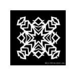 Image of Simple Star Snowflake