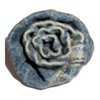 Denim Fabric Rose