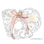 Image of Simple Doily Angel