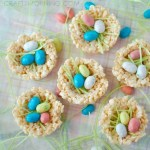 Image of Macaroon Easter Nest Snack in a Cone