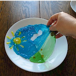 Image of Edible Gummy Painting Craft