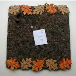 Image of Fall Leaf Bulletin Board