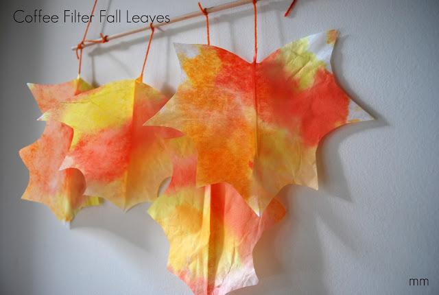 Fall Leaf Mobile