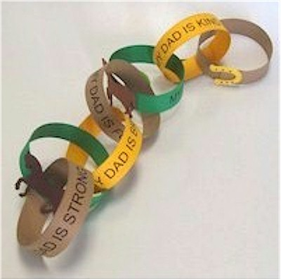 Image of Father Appreciation Paper Chain