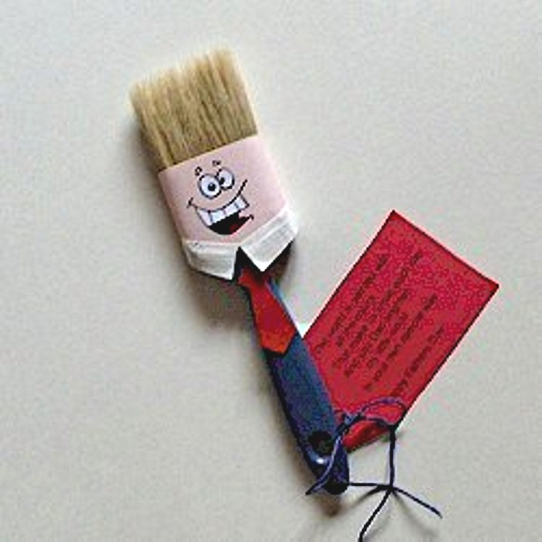 DIY Paintbrush and Poem for Father's Day