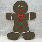 Image of Printable Gingerbread Treat Bag