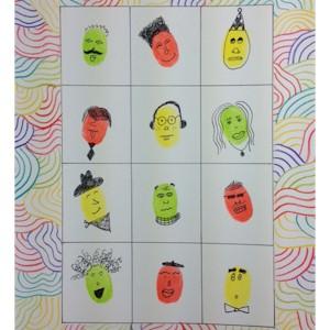 Image of Make Fingerprint Faces