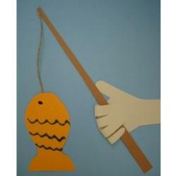 Image of Handprint Fishing Pole