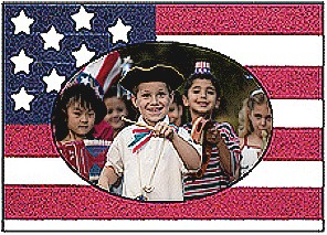 Image of Flag Day Photo Frame