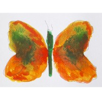 Image of Food Coloring Butterflies