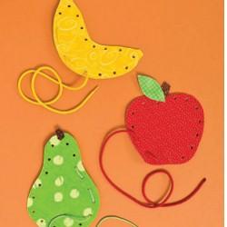 Image of Fruit Lace Ups