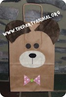 Image of Teddy Bear Gift Bag