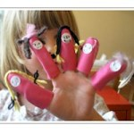 Image of Snowman Puppet Gloves