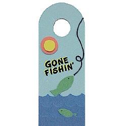 Image of Gone Fishin Door Hanger