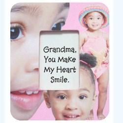 Image of Grandparents Decoupage Frame