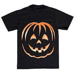 Image of Grinning Pumpkin Tee Shirt