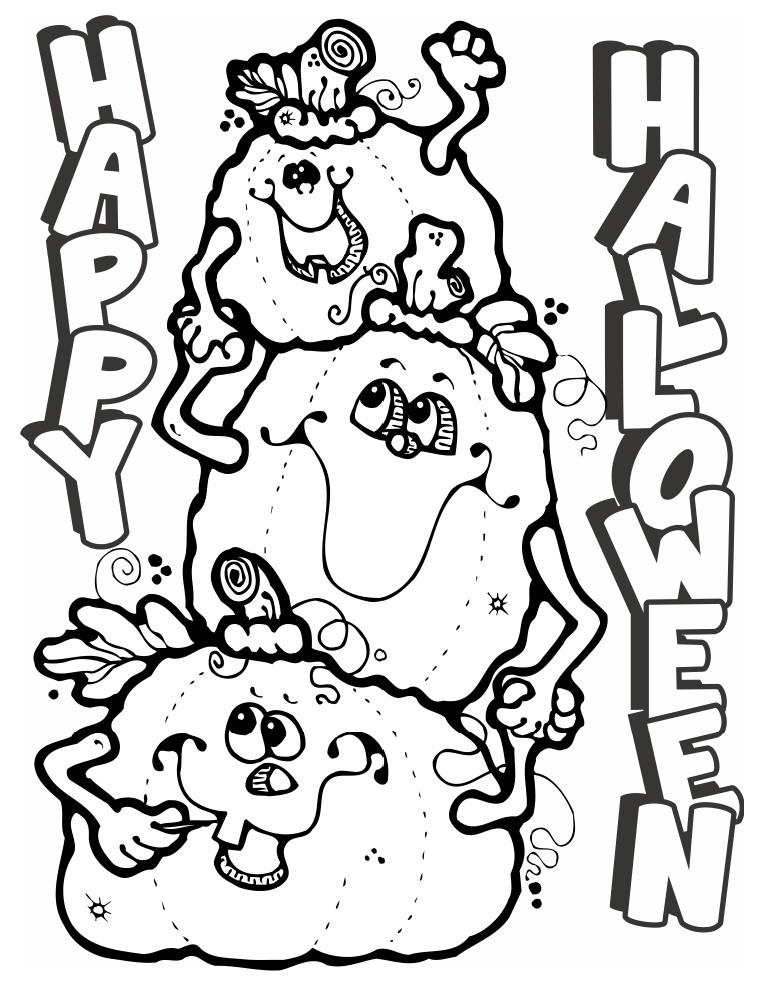 Printable Pumpkin Faces