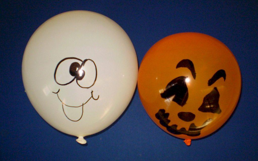 Image of Halloween Party Balloon Activity