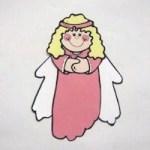 Image of Christmas Angel Garland