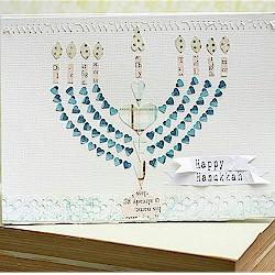 Handmade Hanukkah Card