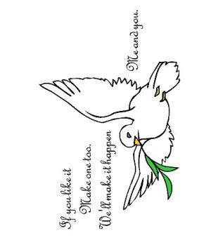 Image of Peace on Earth Handprint Poem
