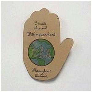 Image of Peace on Earth Handprint Poem