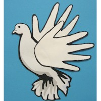 Image of Handprint Dove