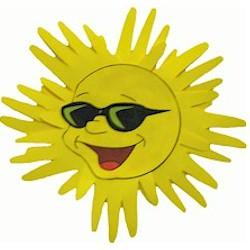 Image of Handprint Sun Craft