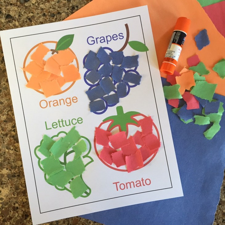 Cut And Paste Crafts